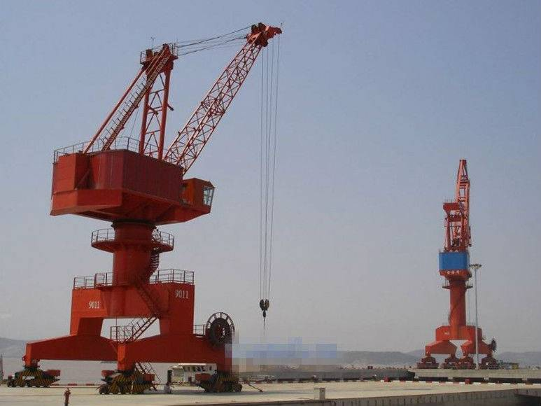 Marine and port used portal gantry crane manufacture