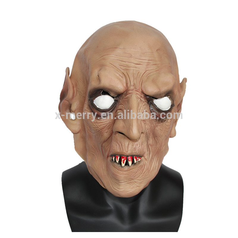 X-MERRY TOY Full Head Skull Man Novelty Prank Toys The Funny Halloween Items Mask Horror Costume Par