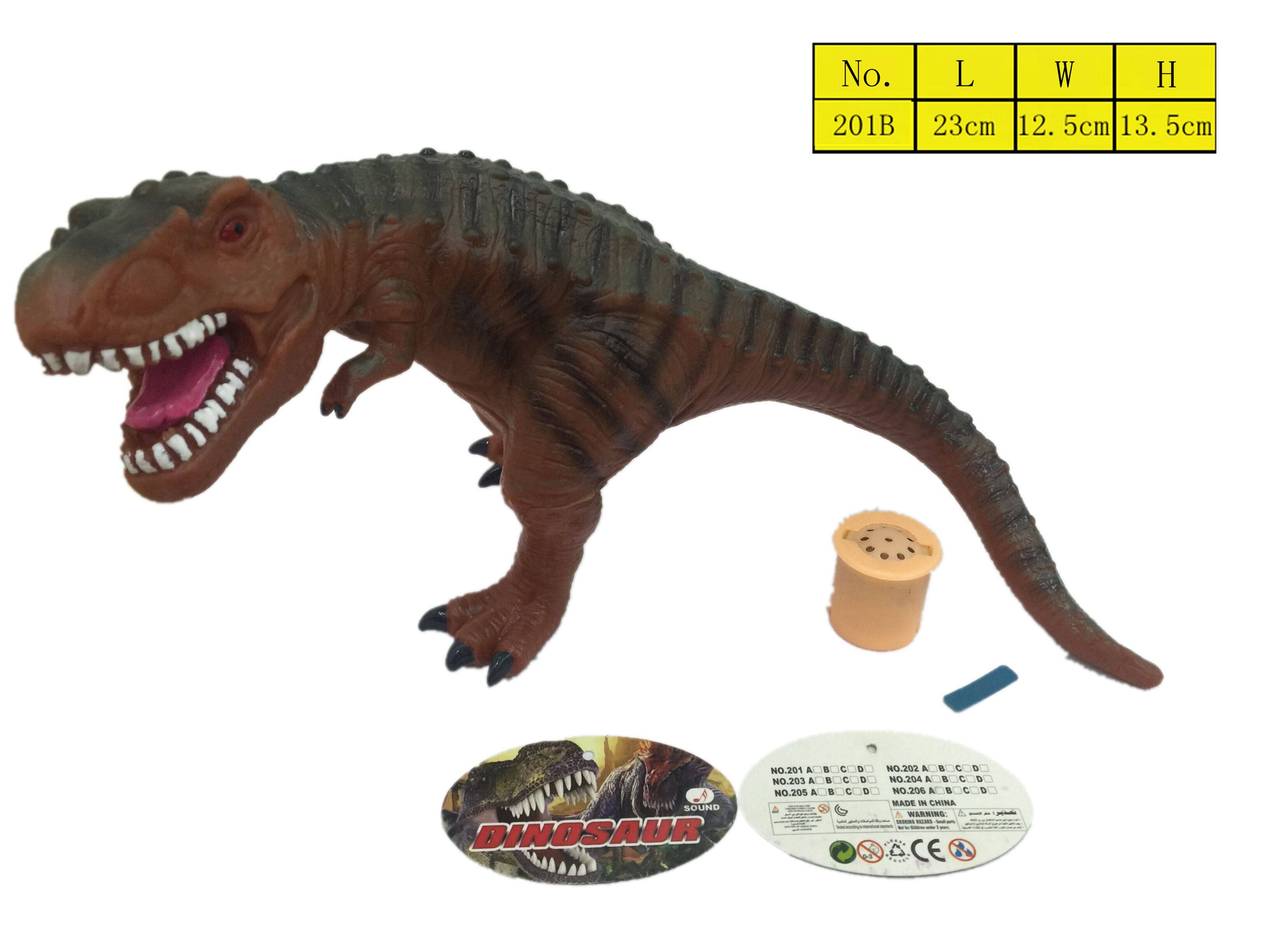 2016 Top sell Jurassic Park Dinosaur vinyl Toys Environmental Gifts for Kids