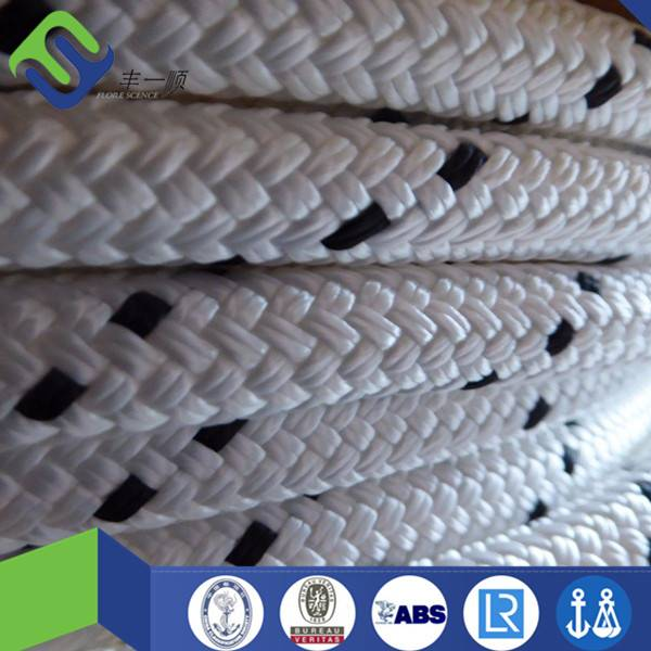 Double braided polyester rope 12mm hot sale