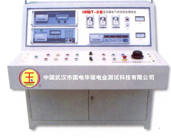 Electrical transformer of automatic comprehensive test-bed