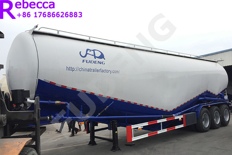 Tri axle 60m3 bulk trailer bulk cement tank semi trailer for sale