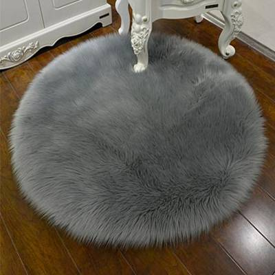 3030CM Soft Artificial Sheepskin Rug Chair Cover Bedroom Mat Artificial Wool Warm Hairy Carpet Seat