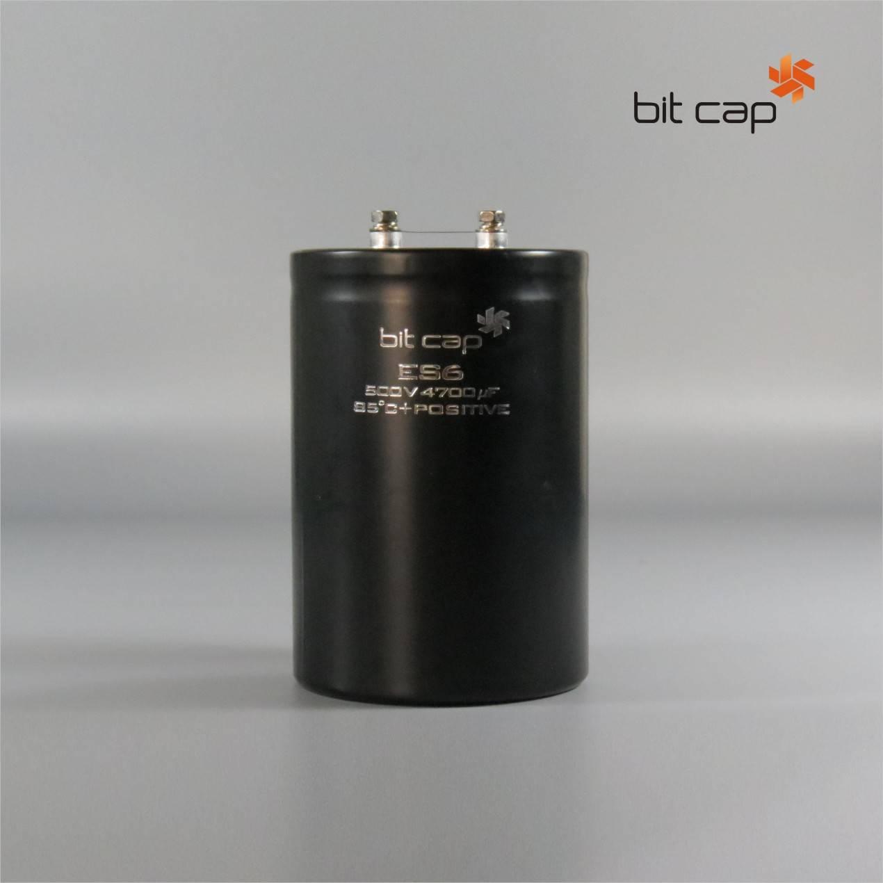bit cap ES6  500V 4700uF  aluminum electronic capacitors