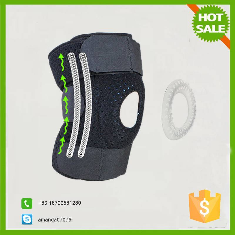 Knee protect outdoor sport stretch knee brace