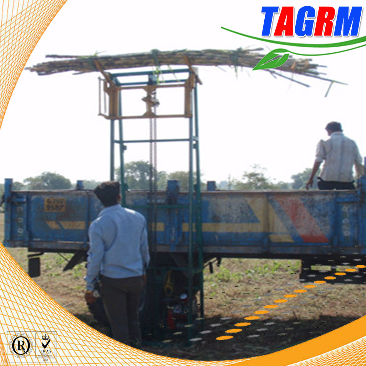 Agricultural sugar cane mini lifting machinery/automatic cane lifting machine/SL5 mini sugarcane lif