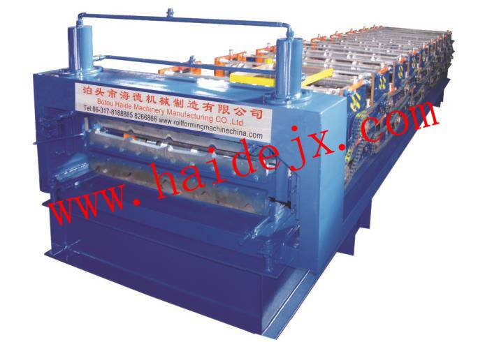 HD Hotsale Double roll forming machine