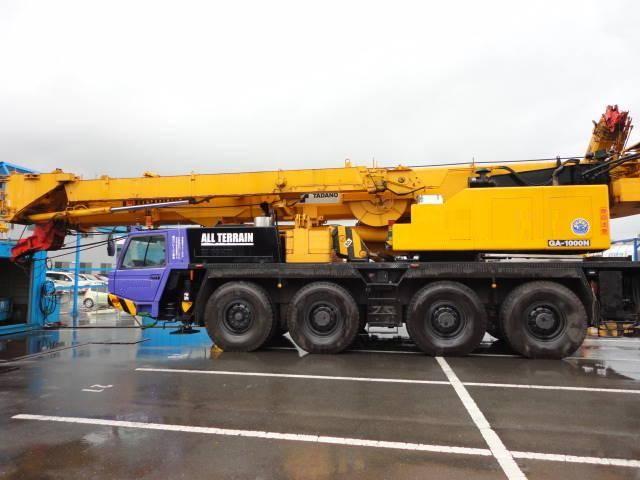 2002 TADANO 100 ton all terrain crane GA-1000N-1 Origin JAPAN Location JAPAN