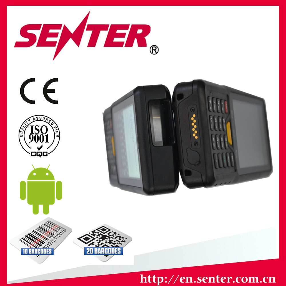 ST907V7.0 4 inch Rugged PDA with 1d 2d barcode scanner