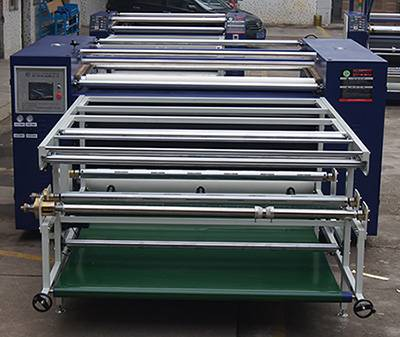 Touch Screen Heat Transfer Press Transfer Printing Machine for Roll to Roll Textile Printing BF800/
