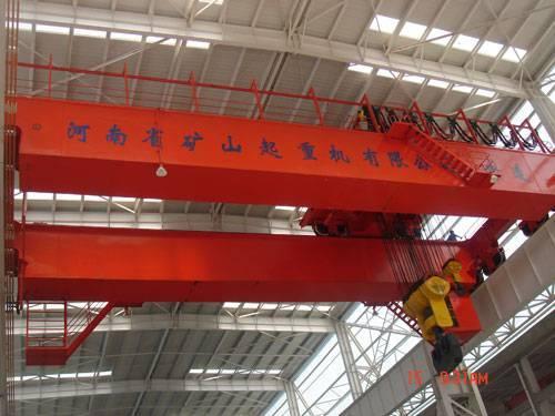 Electric double beam hook overhead crane