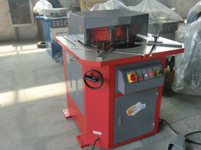 different metal steel shape notching machine