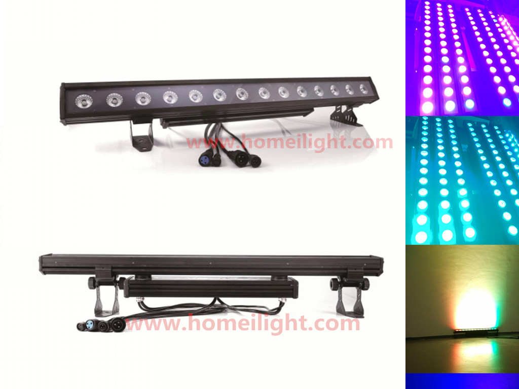 14x30W Outdoor Wall Washer Bar led DMX512 RGB 3in1 liner Lighting for building wall decoration