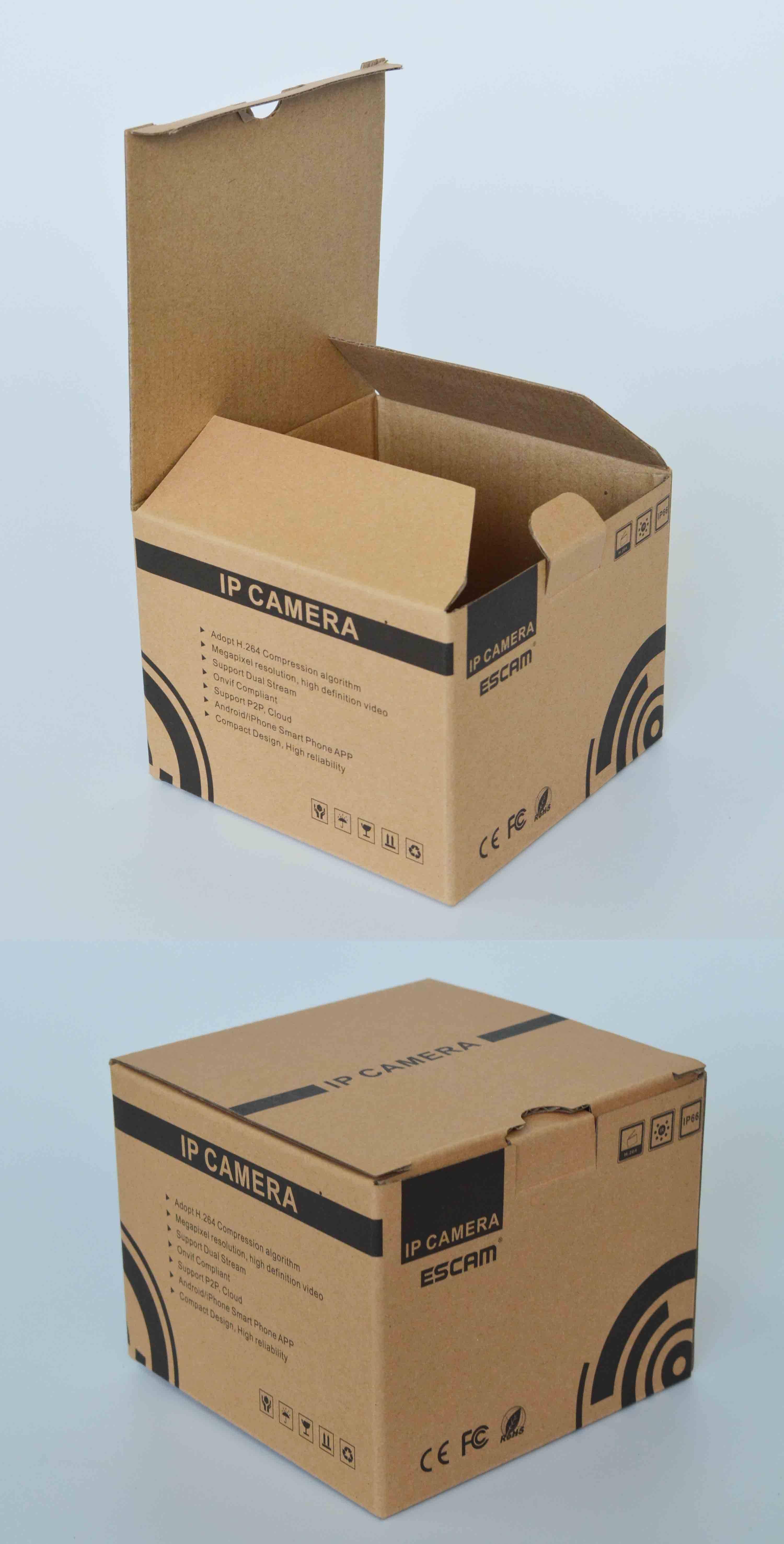 good price square corrugated paper box
