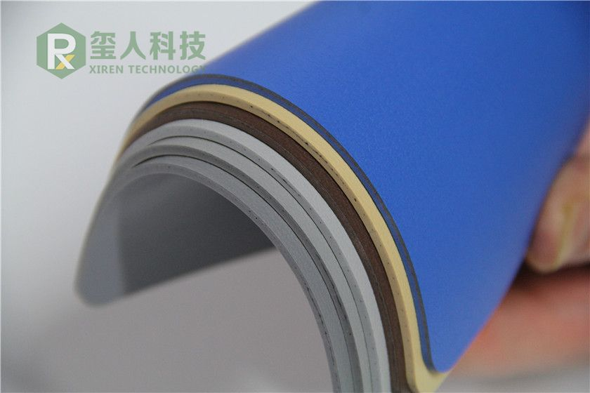 Shoping Mall Homegeneous PVC Flooring-Pure Color Series