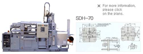 70Ton Hot Chamber Diecasting Machine