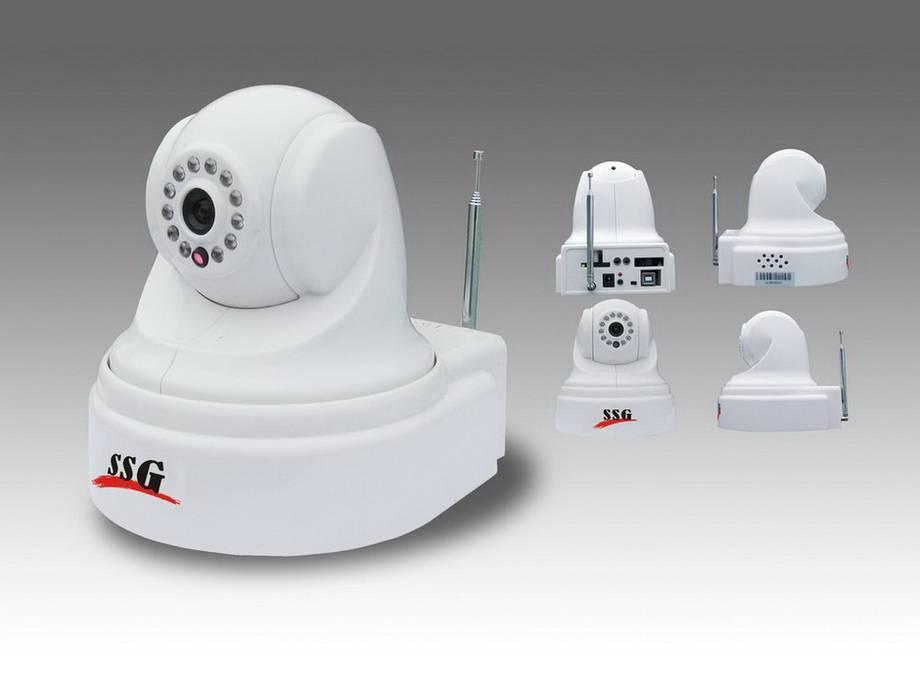 3G Wireless Camera Alarm w/ 5X Digital Zoom & Voice Instruction