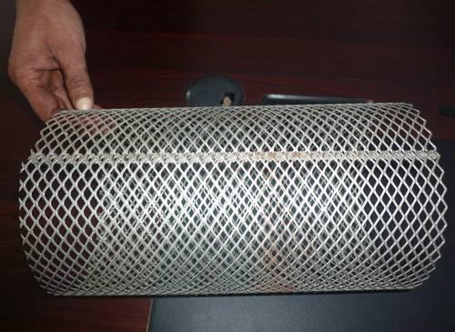 filter mesh nipping machine