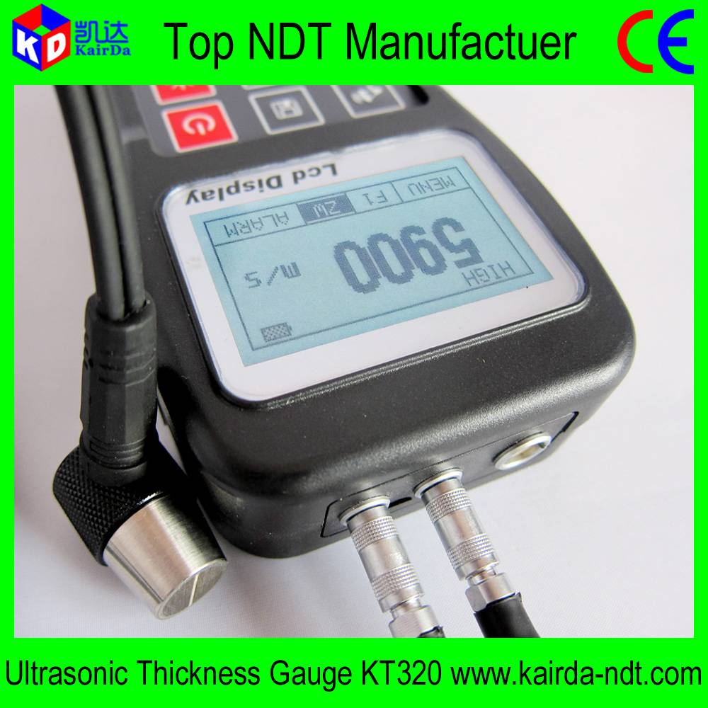 Portable Ultrasonic Thickness Gauge