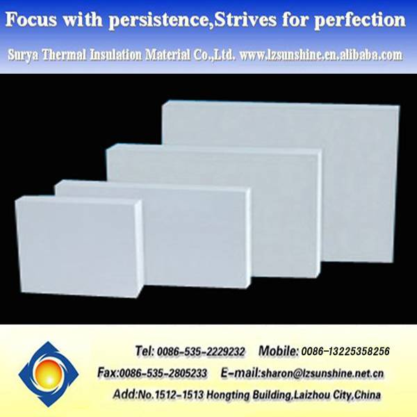 Calcium silicate board fireproofing thermal insulation board