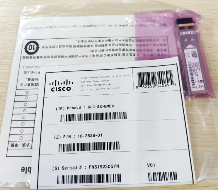 CISCO NEW GLC-SX-MMD Transceiver module