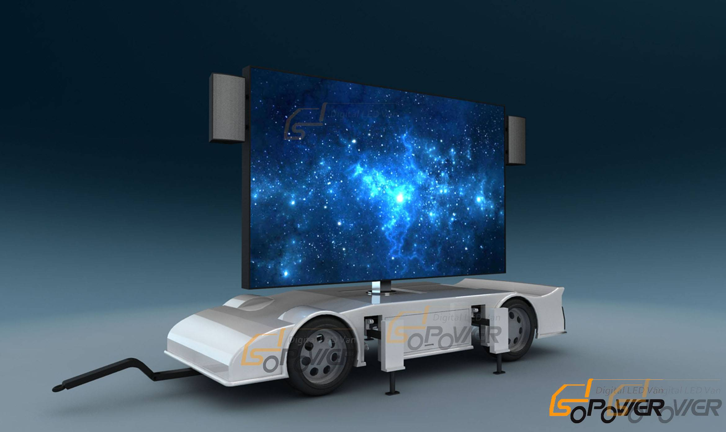 SoPower Digital LED Trailer iTrailer 22