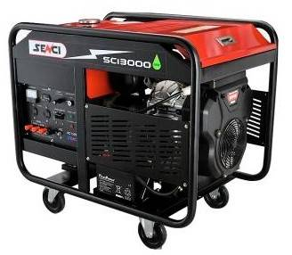 Senci SC13000 50hz 22hp 10kva Gasoline Generator