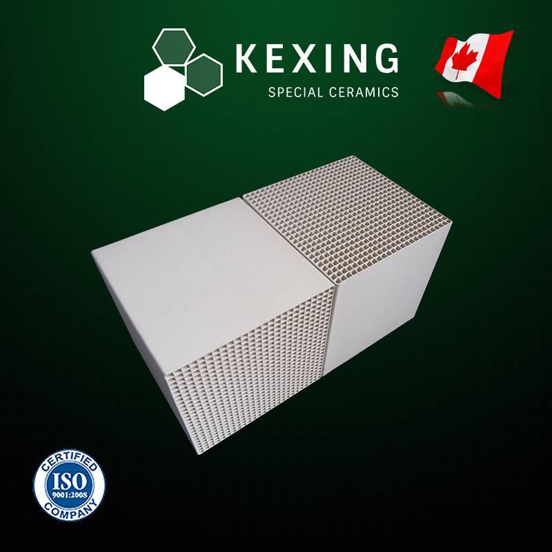 Honeycomb Ceramic Heat Exchanger Monolith