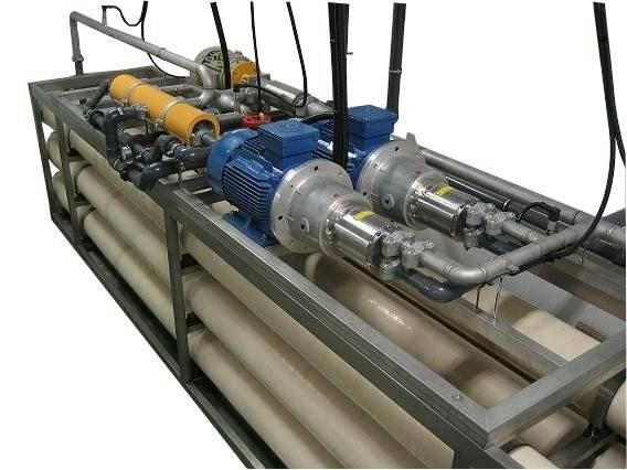 8T Sea water treatment system