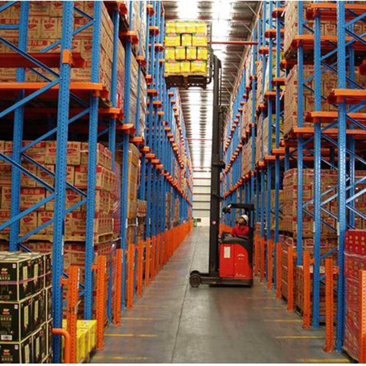 High Density Space Saving  Drive in pallet rack CE ISO9001