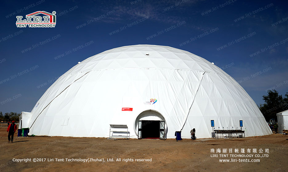 1000 People Special Dome Tent for Weddings and Parties