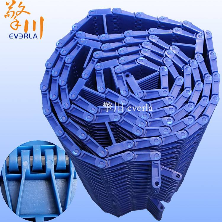 Plastic conveyor chain plate and block high wear-resisting alkali resistance plate conveyor chain