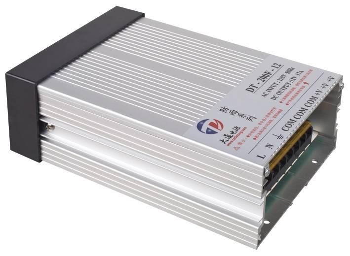 Outdoor Rainproof Power Supply 200W 12V24V/36V/48V(DT-200F)