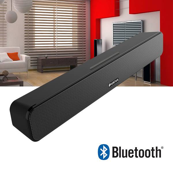 18-Inch Wireless Bluetooth mini sound bar speakers with Remote Control