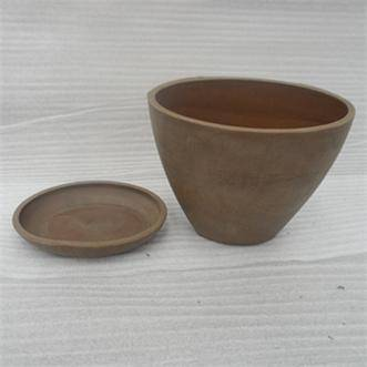 Small oval Flower Pot/ Planter/ Garden pot/ Plant pot