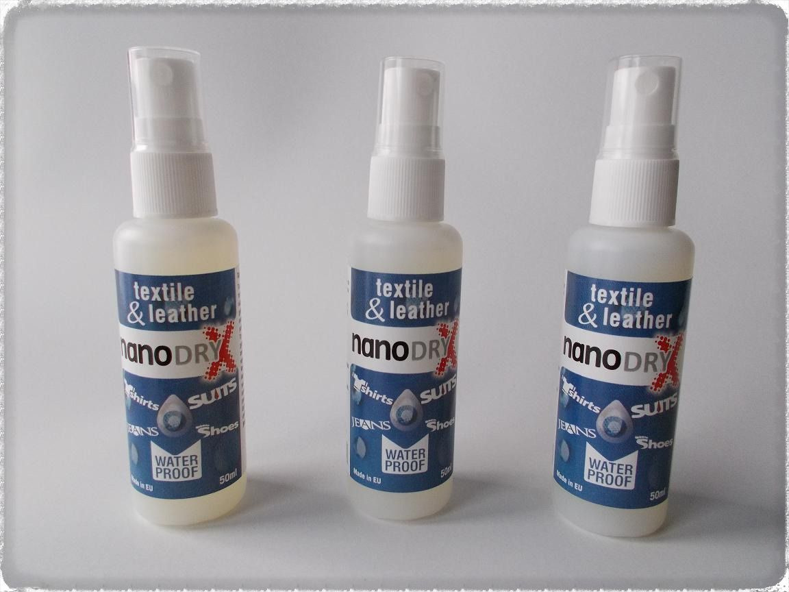 nanoDRY-X textile & leather 50ml