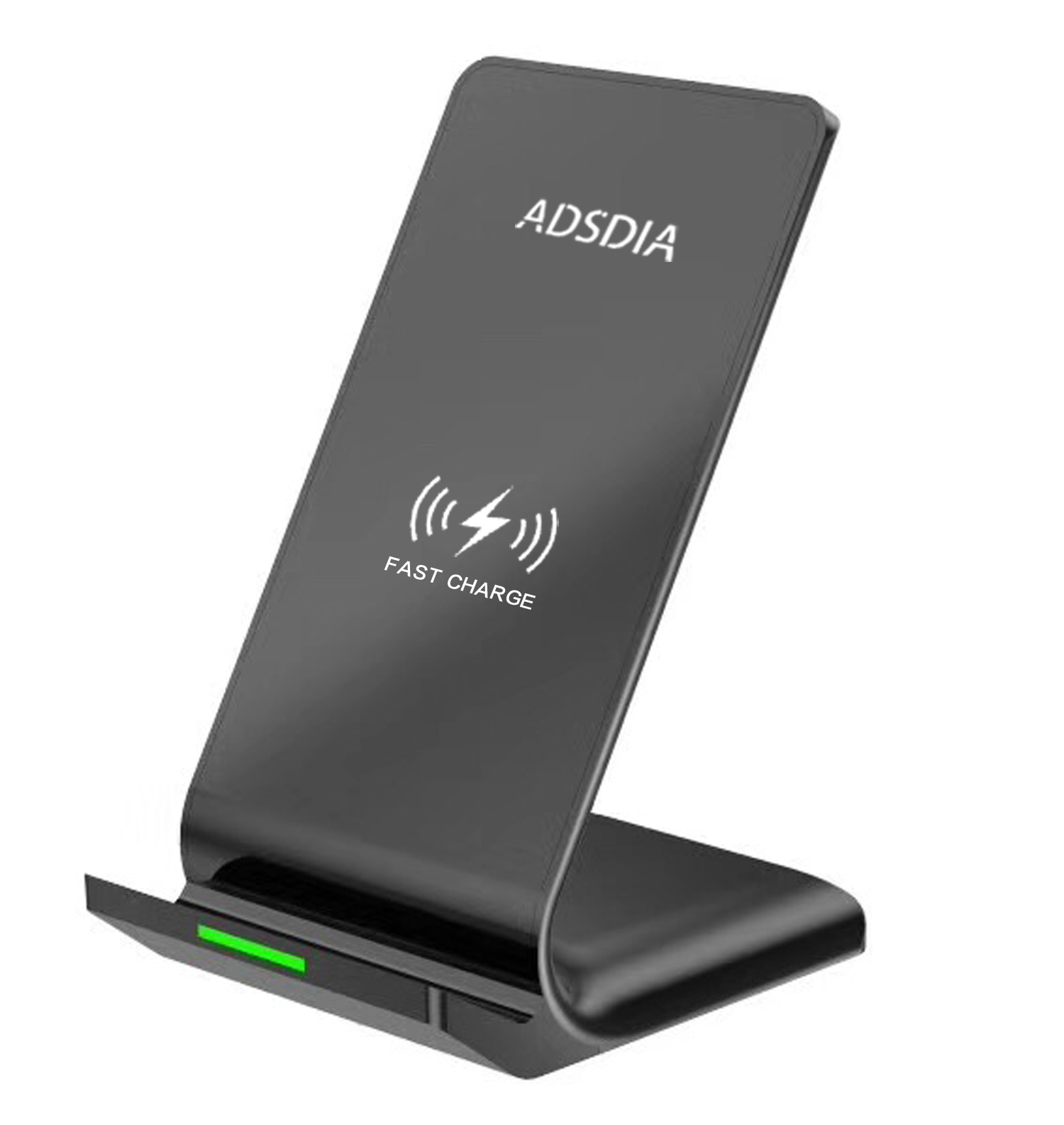 Qi Standard Fast charging pad for Samsung/ iPhone devices, compatible Cordless wireless charger