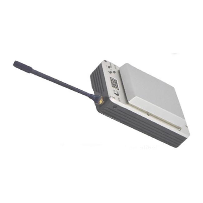 minimum lightweight uav cofdm video transmitter with battery