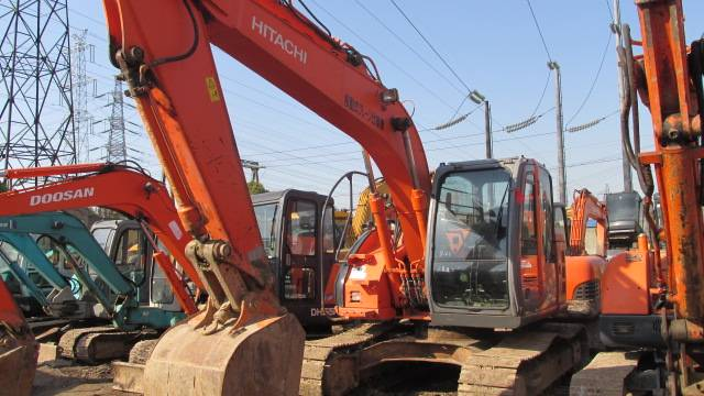 Used HITACHI Excavator ZX135US,second hand good excavator