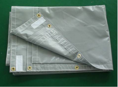 PVC soundproofing fabric / sound proof sheet
