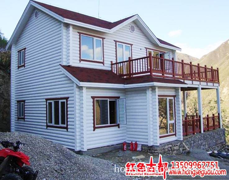 Supply Quick Assemble Prefabricated Wooden House Wooden Villa Prefab Cabins Log Cabins