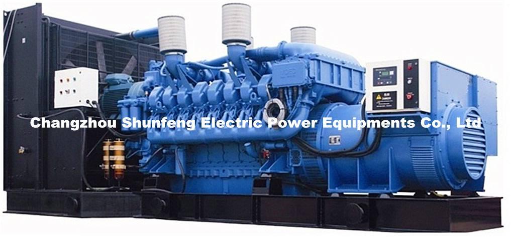 MTU generating set SM1100 -- SM2400 / Diesel Generator