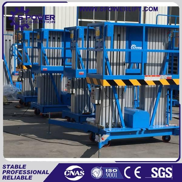 China 10M portable aluminum alloy man lift manufacturers