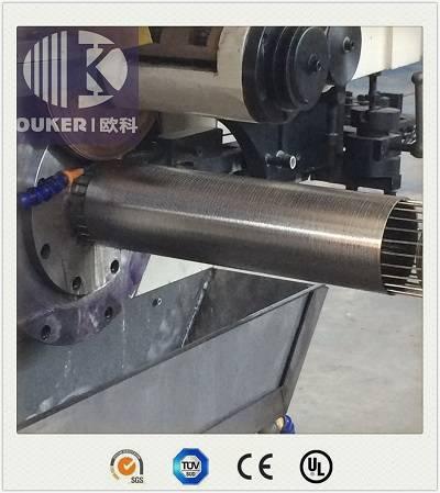 High precision wedge wire screen welding machine V20/200