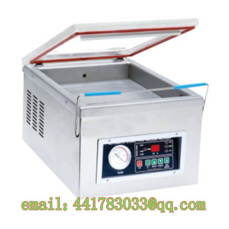 DZ-260 / PD TABLE-STYLE VACUUM PACKAGING MACHINE Small home vacuum packaging machine Tea Vegetables