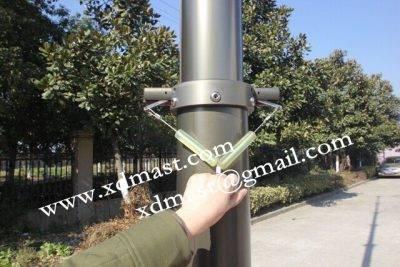 10m Lockable Telescopic Mast