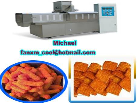single-screw fried food processing line