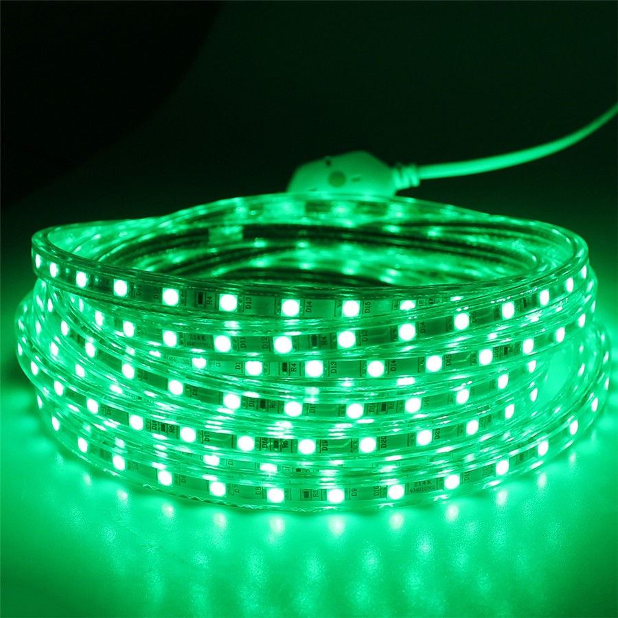 AC 220V led strip light SMD5050 60leds/M IP67 Waterproof Led flexible Tape lights