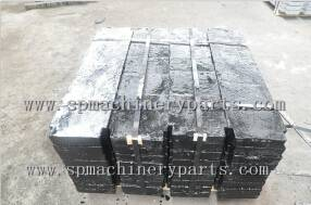 China Foundry custom Cast Iron Block Weights In Elevator Parts