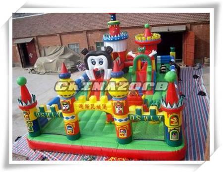 Top sale inflatable amusement park air funland disney them park good price